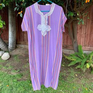 Hippie BOHO India Woven Gauze Caftan Kaftan Dress